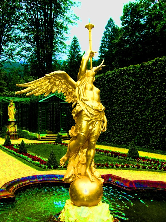 The Linderhof Garden Angel