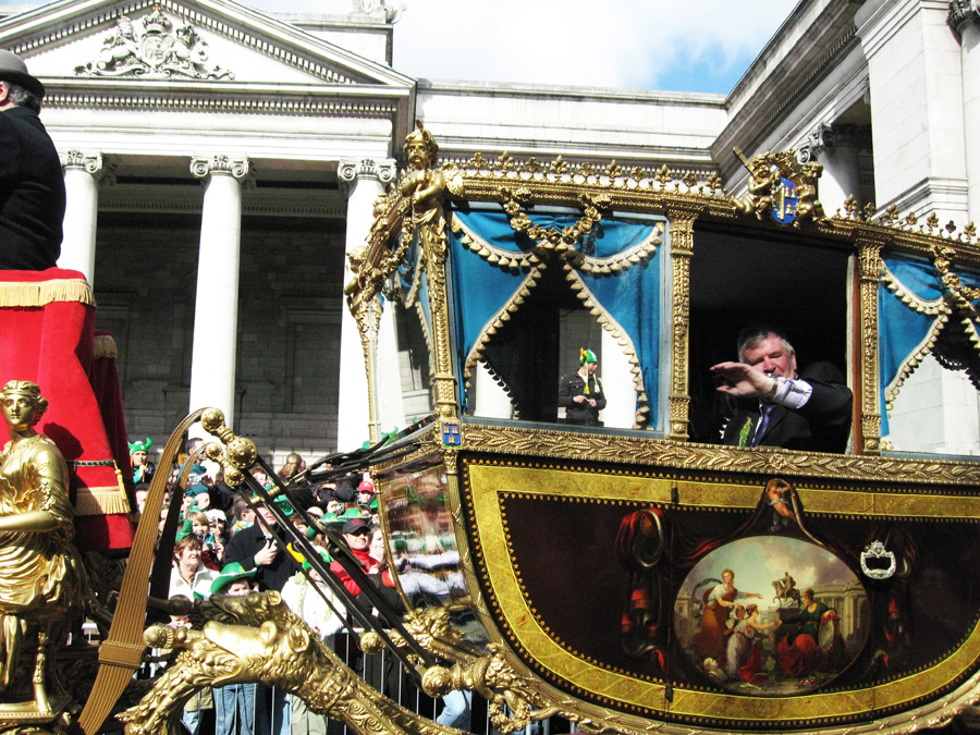 The Carriage of the Lord Mayor of Dublin Leads the 2008 Parade