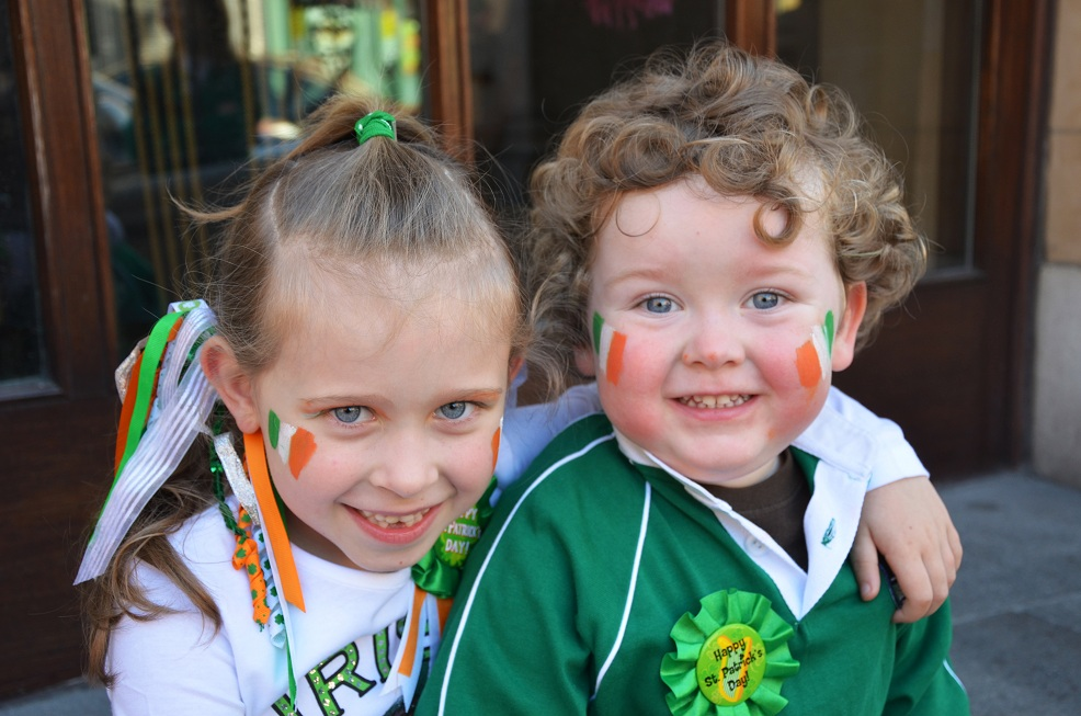 Young and Old Love Saint Patrick's Day in Ireland